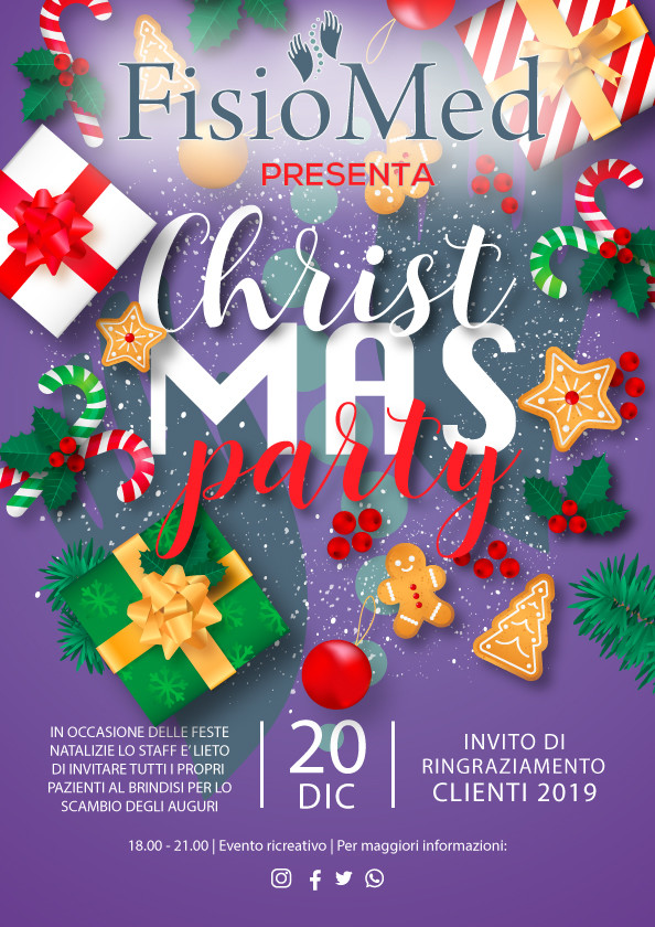 Christmas Party – 20 dicembre 2019